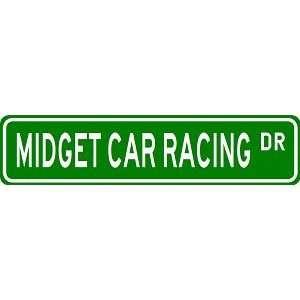 CAR RACING Street Sign   Sport Sign   High Quality Aluminum Street