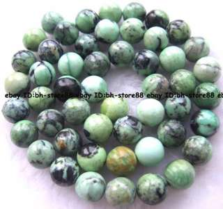 green grass Howlite turquoise round gemstone Beads 15