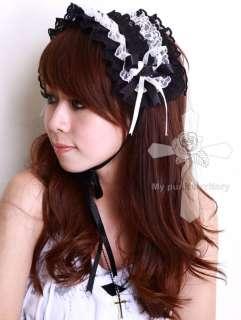 Gothic Lolita FAIRY Double Ruffles Angelic Headdress