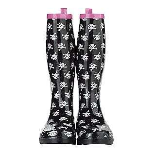 Rain Boots with Skull  Pink Cookie Shoes Womens Sandals