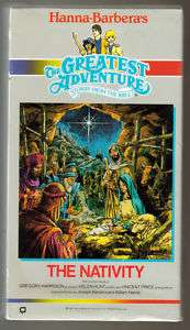 HANNA BARBERA THE GREATEST ADVENTURE THE NATIVITY (VHS)