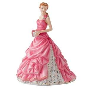 Royal Doulton Pretty Ladies Figurine Happy Birthday 2012