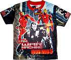 IRON MAN Kids Boys Clothes T Shirts Tops Large Age 6 7