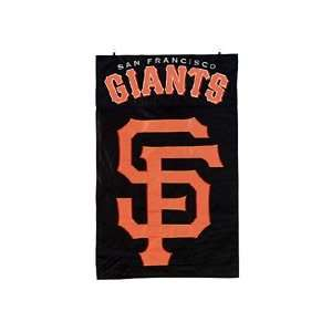 San Francisco Giants Black Vertical Applique Flag Sports
