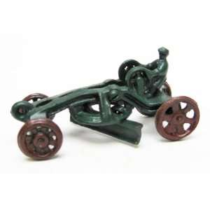 Road Grader Replica Cast Iron Farm Toy Tractor