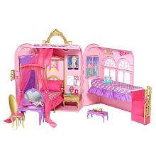 Princess Charm School Royal Bed & Bath Play Set   Mattel   ToysRUs