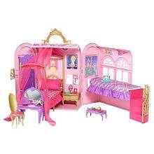 Princess Charm School Royal Bed & Bath Play Set   Mattel