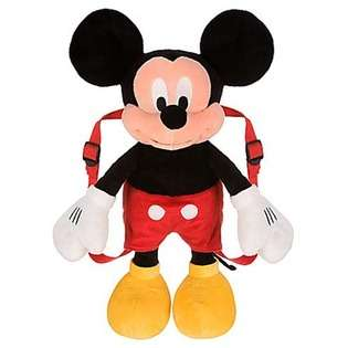 Mickey Mouse Clubhouse Disney Mickey Mouse 15 Plush Backpack at
