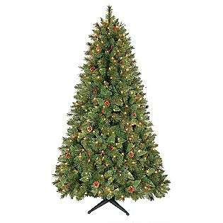 5ft Kensington Pine Christmas Tree with Clear Lights  Country Living