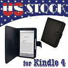 Folio Leather Case Cover Pouch for  Kindle 4 4th NON TOUCH
