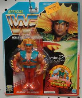 Ricky the Dragon Steamboat WWF Figure (Hasbro WWE MOC)