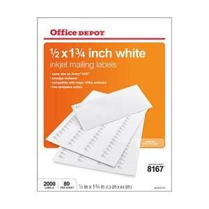 Office Depot Inkjet Return Address Labels Office Products