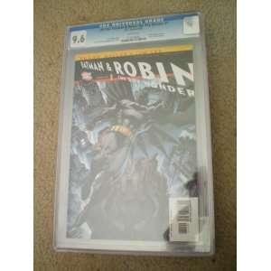 All Star Batman and Robin #1 CGC 9.6 (Robin Cover) Grant