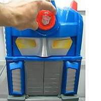 Heroes Transformers Rescue Bots Electronic Fire Station Prime Playset