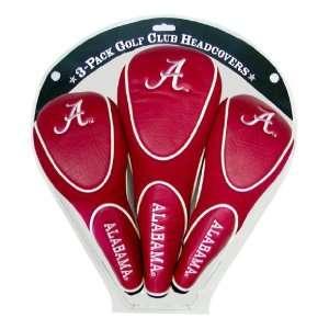 Alabama Crimson Tide Team Logo Zippered Golf Club Head Covers   Golf