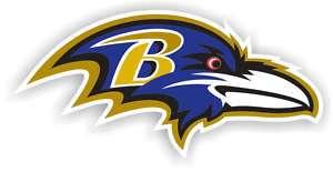 Baltimore Ravens Helmet Logo 12 Vinyl Car Magnet