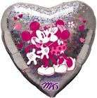 DISNEY MICKEY & MINNIE MOUSE HEART LOVE BALLOON