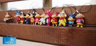 LOT12pcs Lovey Cartoon Mobile Cell Phone Strap Charms