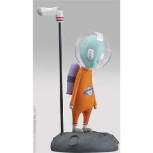 Alien Space Cadet in Orange Toys & Games