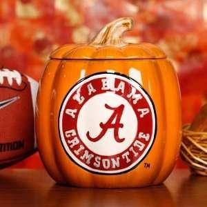 NCAA Alabama Crimson Tide Ceramic Pumpkin Jar Sports