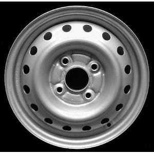 98 02 HONDA ACCORD SEDAN STEEL WHEEL RH (PASSENGER SIDE) RIM 14 INCH