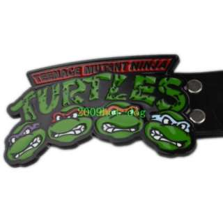 Teenage Hero Mutant Ninja Turtles Fighters Buckle Free Belt Xmas Gift