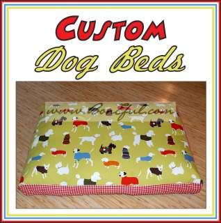 BOOAK Custom Boutique LITTLE SMALL DOG CAT Pet Bed Zipper Pillow Cover