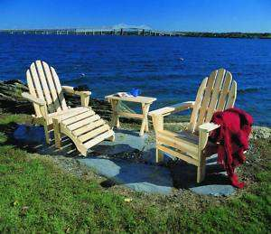 Rustic Cedar Adirondack Outdoor Patio Deck Chairs