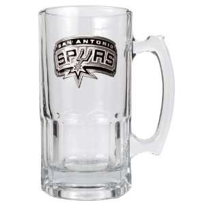 San Antonio Spurs NBA 1 Liter Macho Mug   Primary Logo
