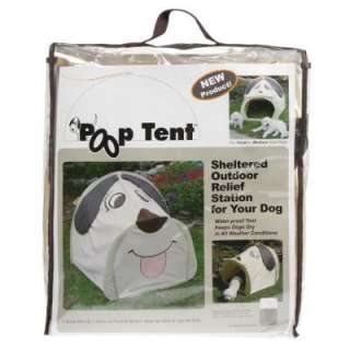 Doggy Poop Tent Shelter Outdoor Relief Station Small Medium Dogs
