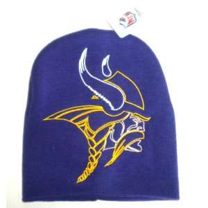 Vikings NFL Large Logo Beanie Toque Skull Hat: Everything Else