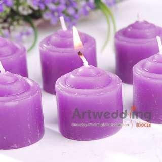 6PCS/each x Pillar Wedding/Bridal Candles Favors 6 Colors U PICK 3