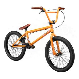 New 2013 Kink Curb Complete BMX Bike Bicycle   20 Inch   Matte Burnt
