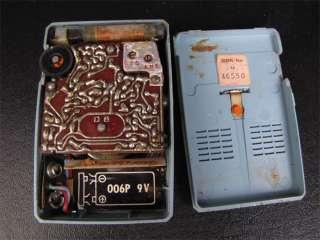 Vintage Matsushita Seven Transistor T 7 Pocket Radio