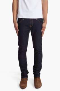 Nudie Jeans Tube Kelly Rinsed Strikey Jeans for men |