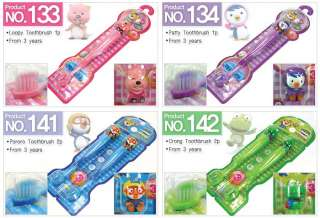 NEW KIDS PORORO Soft Toothbrush Toothpaste