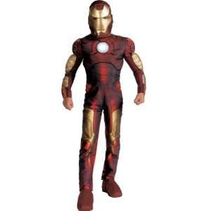 Iron Man Deluxe Costume   Iron Man Child Deluxe Costume Toys & Games