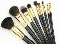 High quality Classics Pro Makeup Brush Set 10 Pcs With 2 Case Brushes