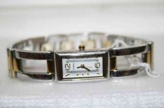 FOSSIL F2 Collection Gold & Silver TONE Chain Link Stainless Steel