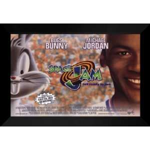 Space Jam 27x40 FRAMED Movie Poster   Style E   1996: Home