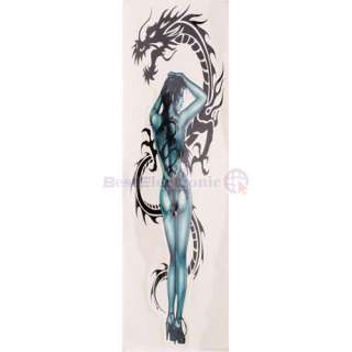 Car Motorcycle Decals Sticker With Dragon Women Logo