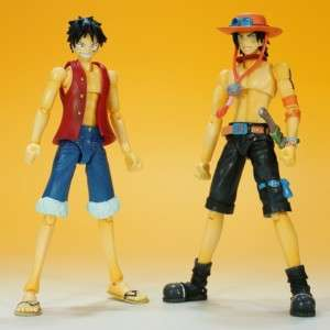 FIGUARTS ONE PIECE LUFFY + ACE 5.5 inch JAPAN SET
