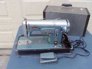 Rare! Vintage Sewing Machine Sewmor Zig zag 900 Works!!