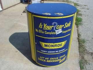 Vintage Service Station Monroe Shock Absorber Cabinet