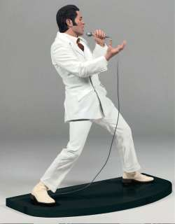 Elvis Presley ® WHITE SUIT Figure Microphone & Stage