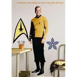 Star Trek Captain Kirk Large Wall Mural