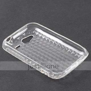 Soft TPU Silicone GEL Back Skin Protective Case Cover for HTC Wildfire