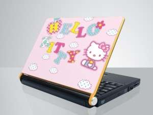 10 13.3 14 Laptop vinyl Skin Sticker Hello Kitty P100