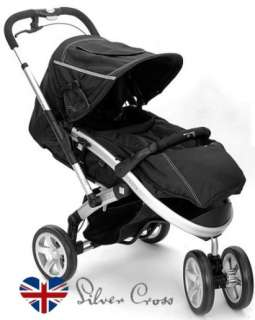 S4 JOGGING BABY TODDLER WINTER CHILD STROLLER BLACK JOGGER