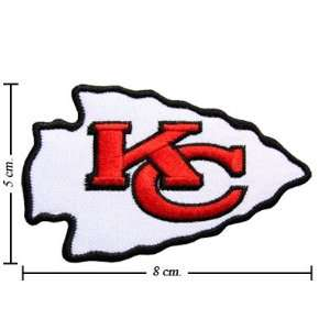 Kansas City Chiefs Logo Iron On Patches: Everything Else